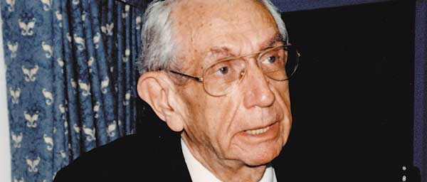 Rabbi Israel Miller zll, Claims Conference president from 1982-2002, worked tirelessly on behalf of Holocaust survivors.