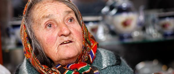 Sofia is the last remaining Jew in her village, and like many aging Nazi victims in the former Soviet Union, her pension alone is not enough to cover her basic needs.