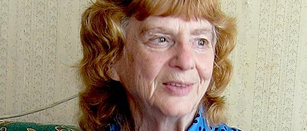 Nadezhda Zelenaya survived the Leningrad siege.