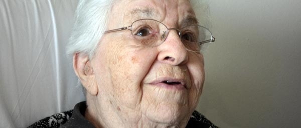 Hanna, 90, survived a Kindertransport operation in her youth.
