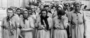 Women slave labor Auschwitz