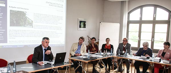 The inaugural workshop of the Provenance Research Training Program (PRTP) was held in June 2012 in Magdeburg, Germany Photo: Lars Frohümuller