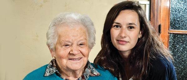 Clara Goldberger receives homecare and assistance with medicine from Fundacion Tzedakah de Uruguay