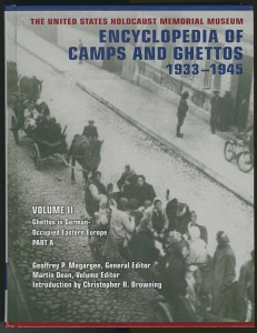 The Encyclopedia of Camps and Ghettos 1933-1945 - cover