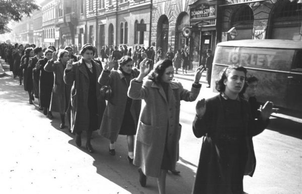 Holocaust Hungary arrest women