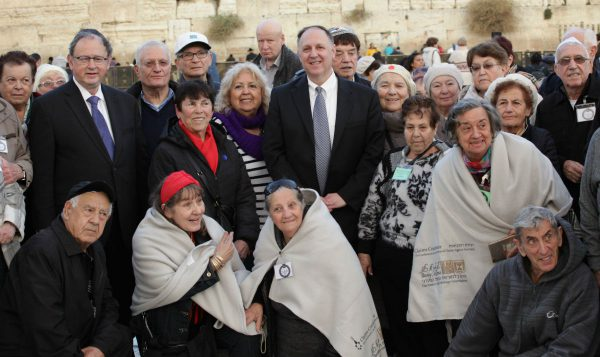 International Holocaust Survivor Night Kotel