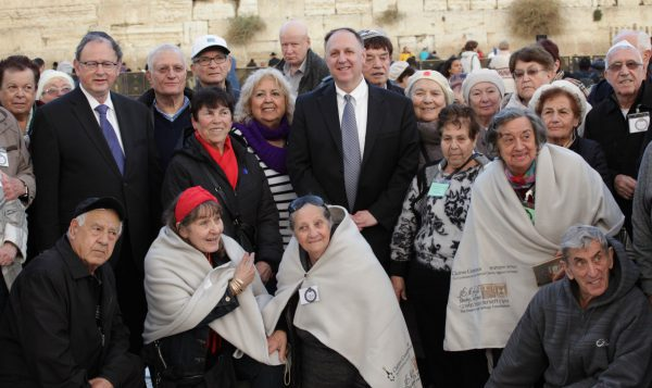 International Holocaust Survivors Night, Kotel, Jerusalem