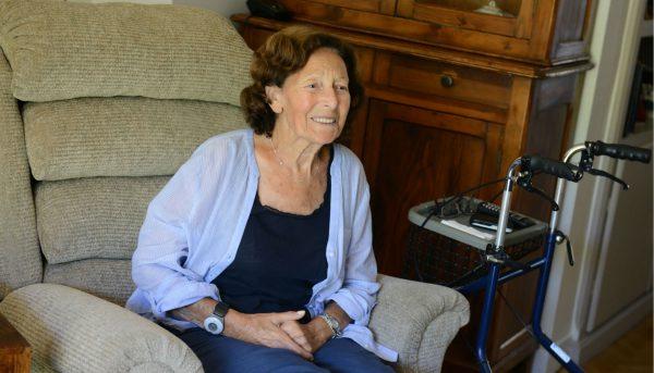 Nelly, Holocaust survivor from Marseille