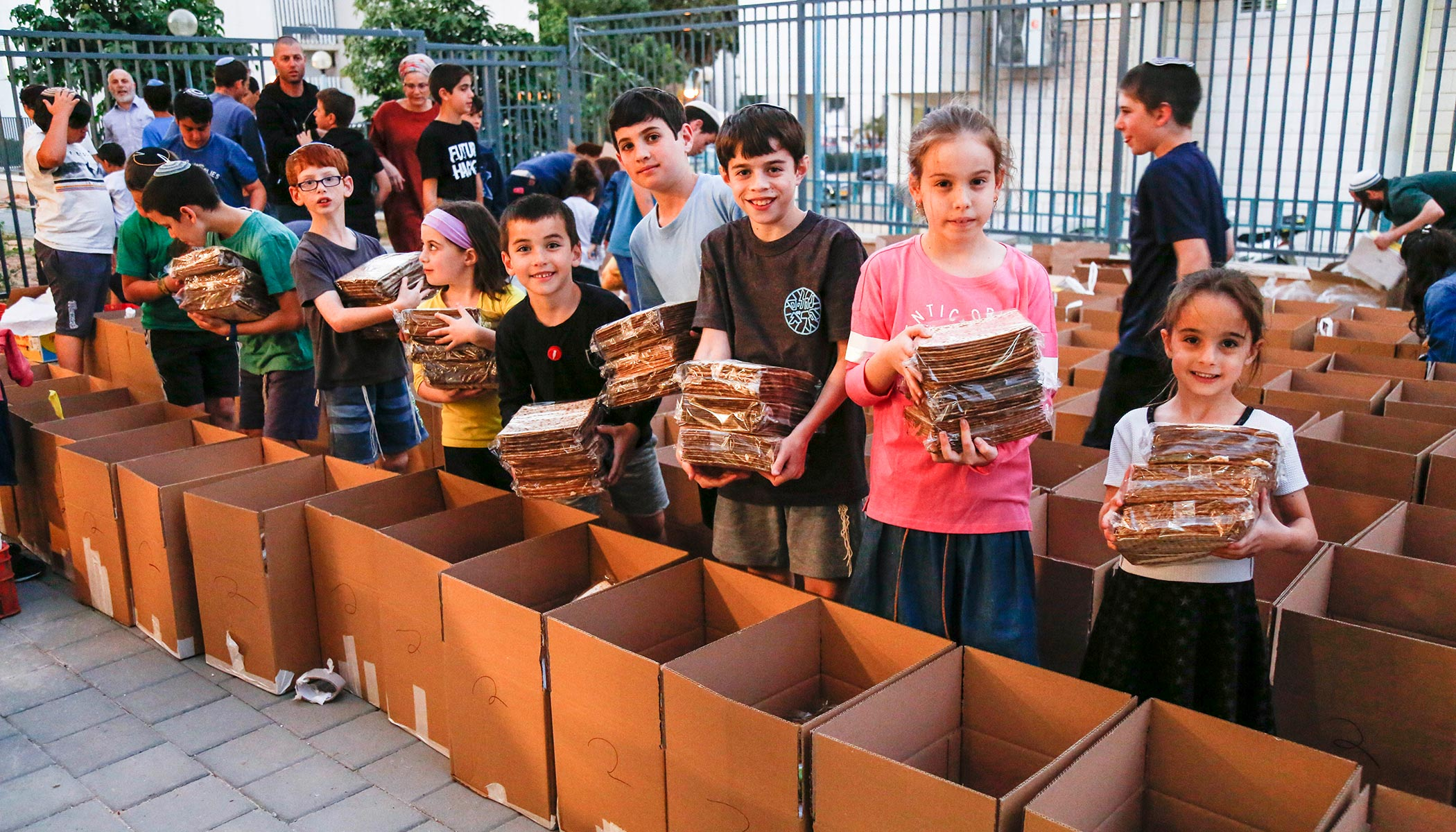 Passover Food Packages for Holocaust Survivors