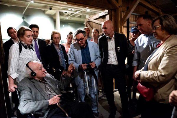 Kent and Bosinger at USHMM
